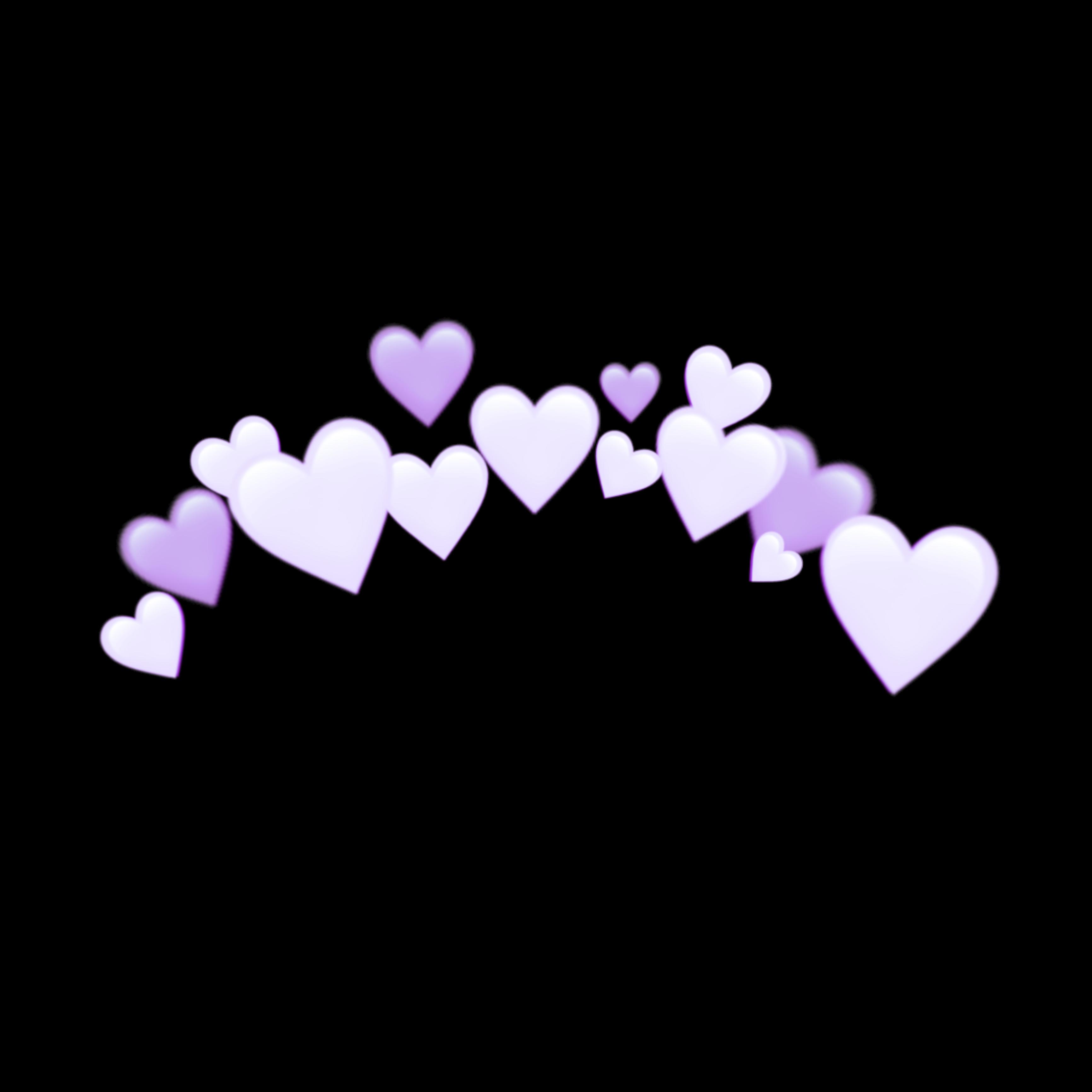 Freetoedit Purple Heart Purpleheart Crown Purplecrown Remixed From Heart Crowns Emoji Art Emoji Wallpaper Purple Emoji