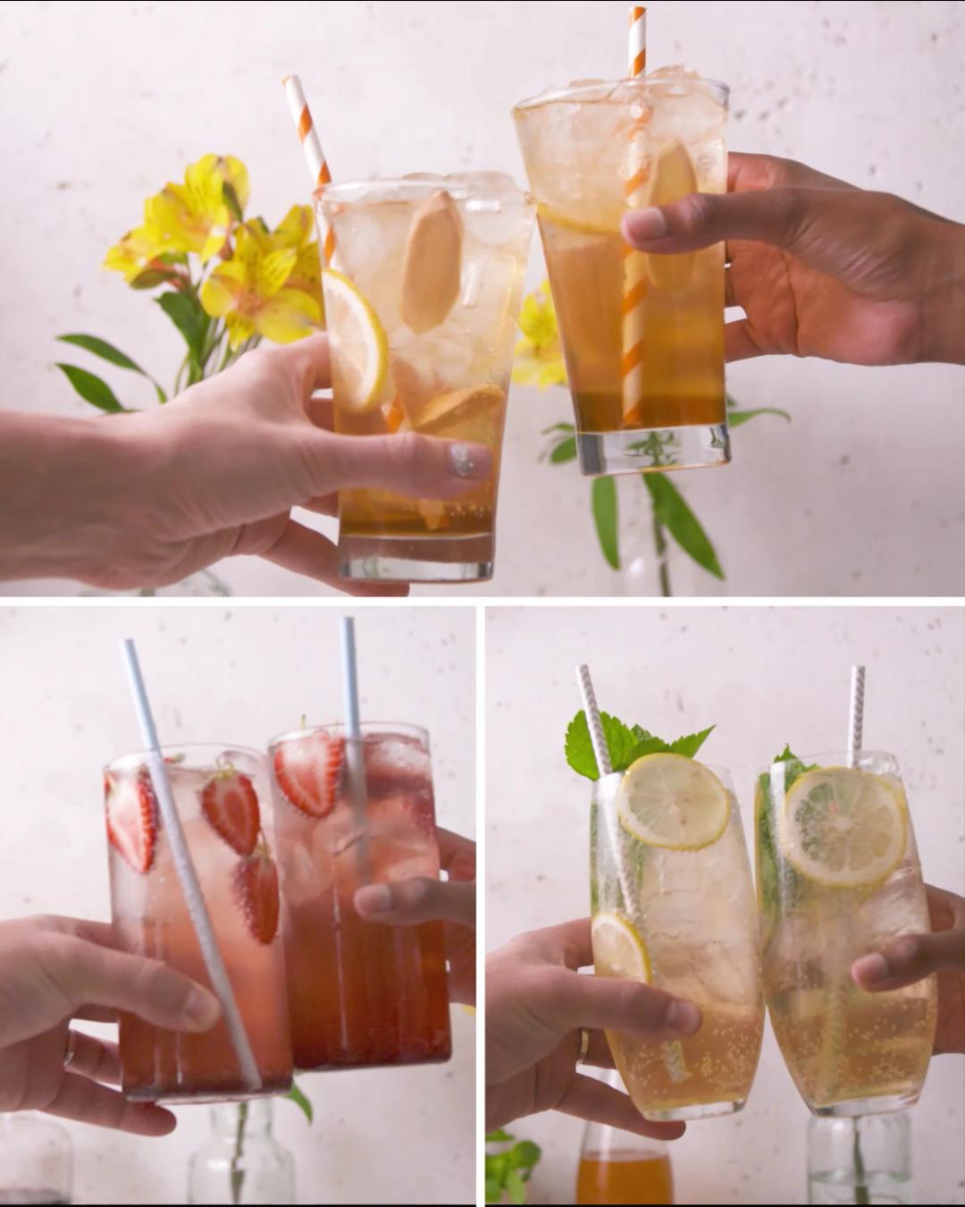 Healthier Homemade Sodas