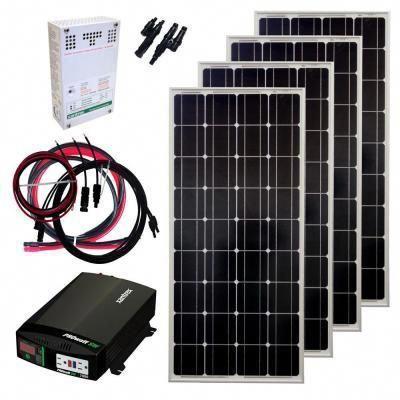 400 Watt Off Grid Solar Panel Kit Solarpanelkits Solar Energy Panels Solar Panel Kits Off Grid Solar Panels