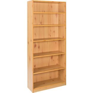 Maine Tall Wide Extra Deep Bookcase Pine Effect At Argos Co Uk Bookcasebookcasesshelving Unitsmaine