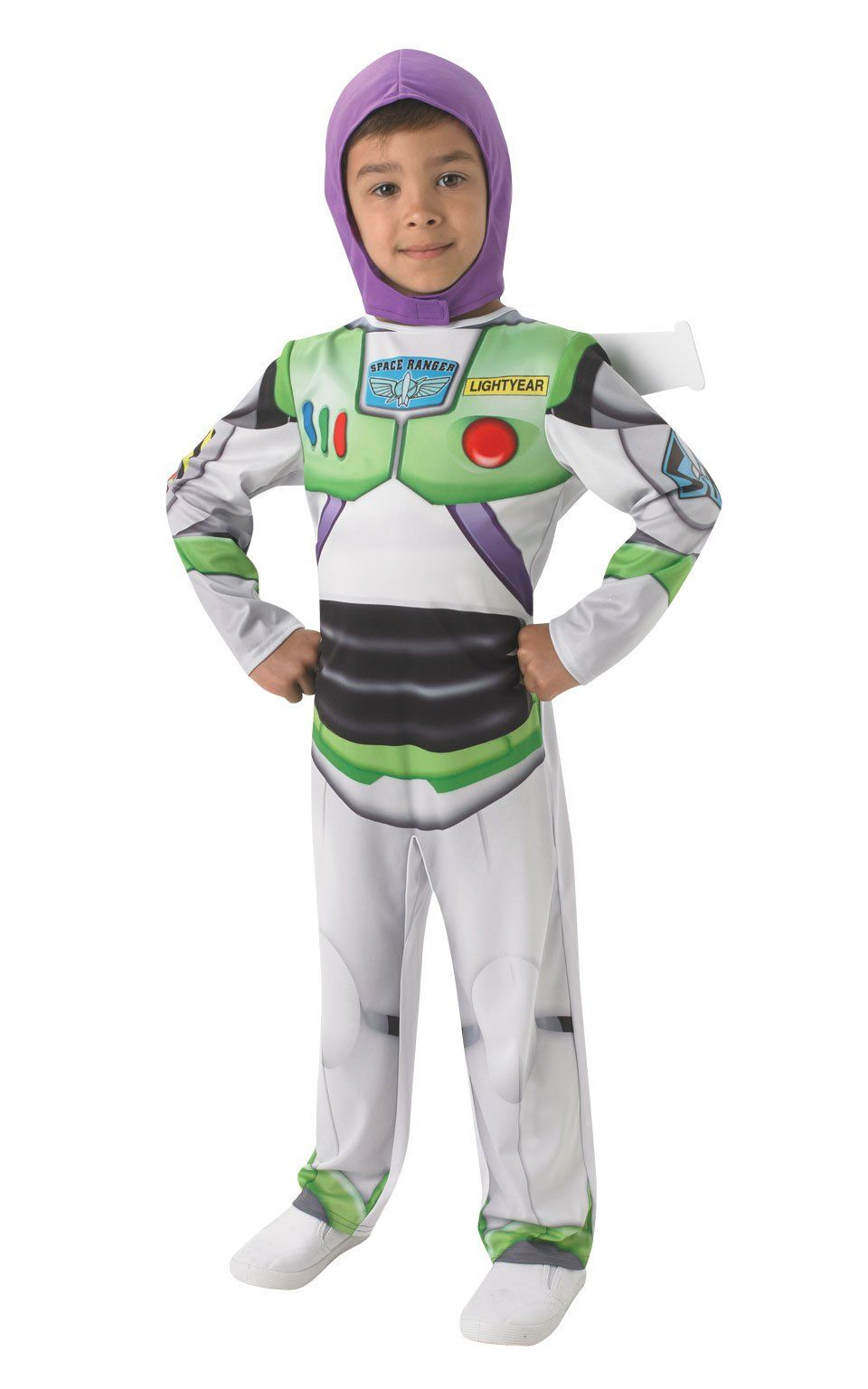 Rubies Official Toy Story Deluxe Buzz Lightyear Fancy Dress Costume L