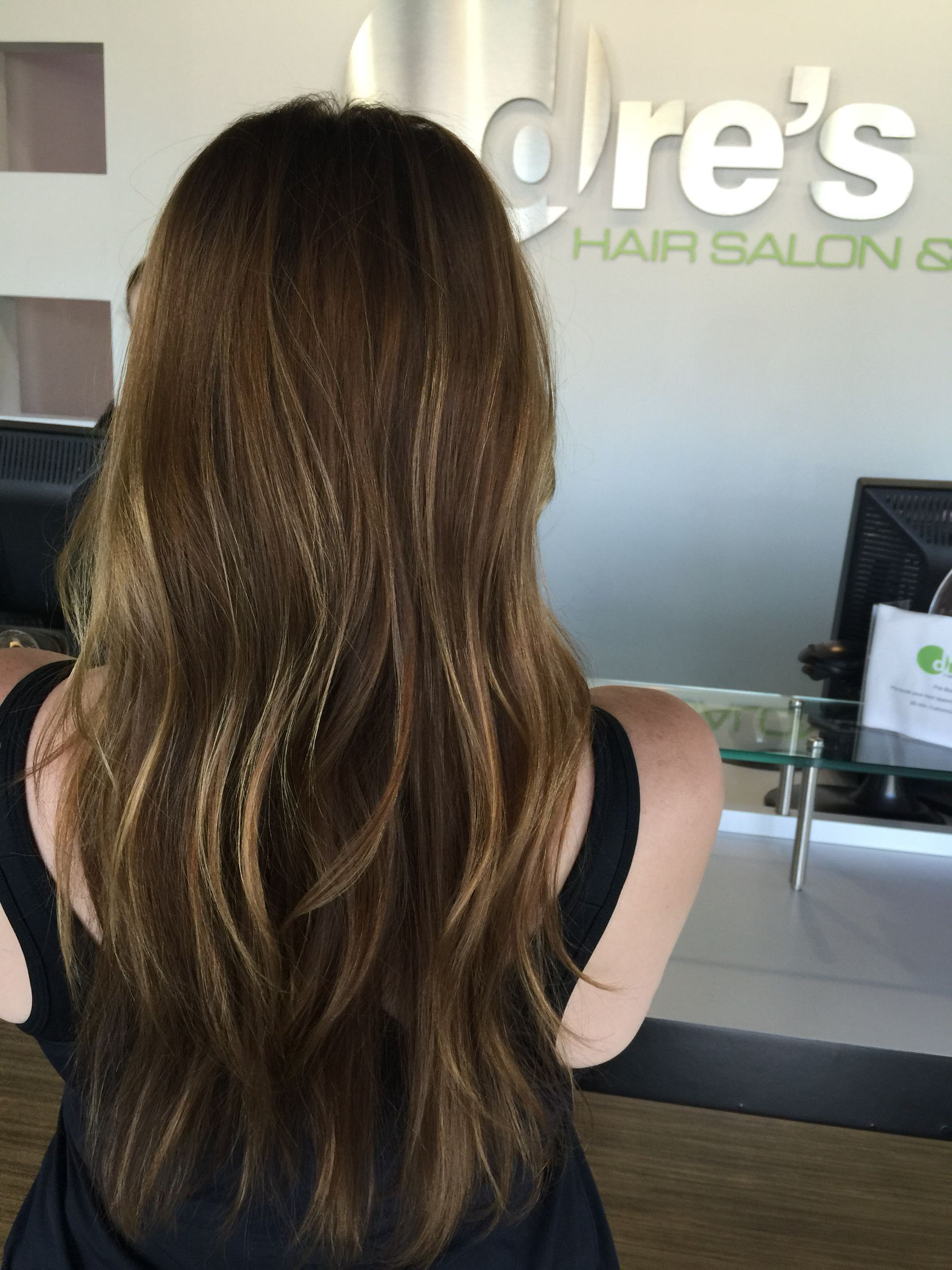 heavy partial to balayage sun kissed perfection hair by theresa mcchesney at dre 39 s salon spa. Black Bedroom Furniture Sets. Home Design Ideas
