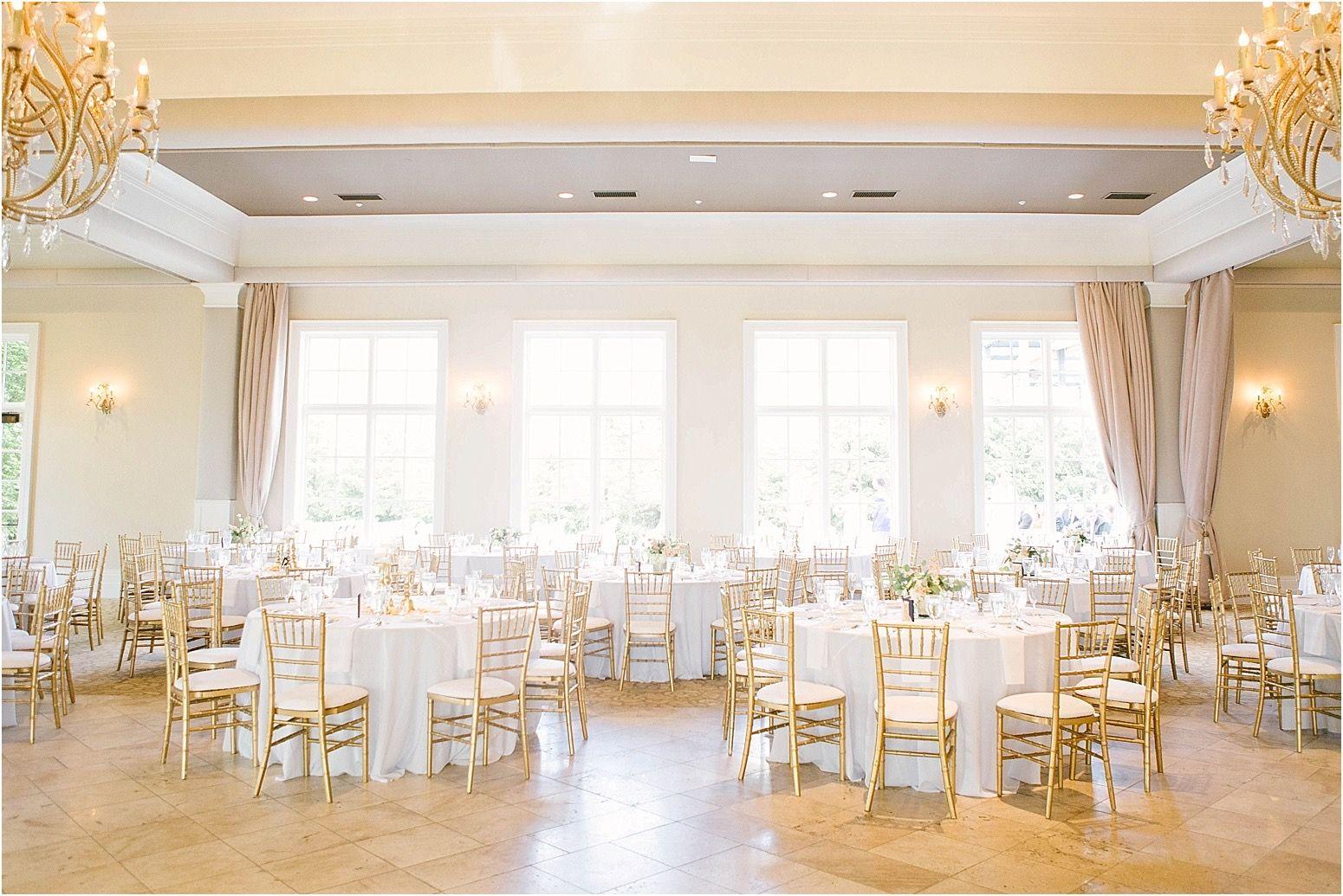 Chairs Golf club wedding, Ohio wedding venues, Columbus