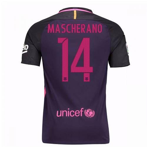 Tío o señor eternamente Advertencia  Nike 2016-17 Barcelona With Sponsor Away Shirt - (Kids ...