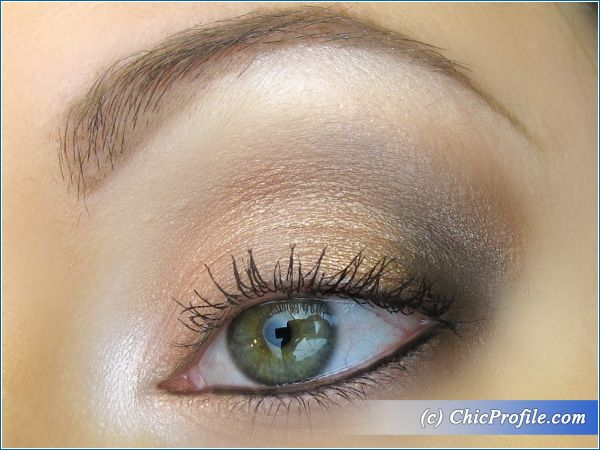 Sophisticated Nude Makeup Look for Spring 2015