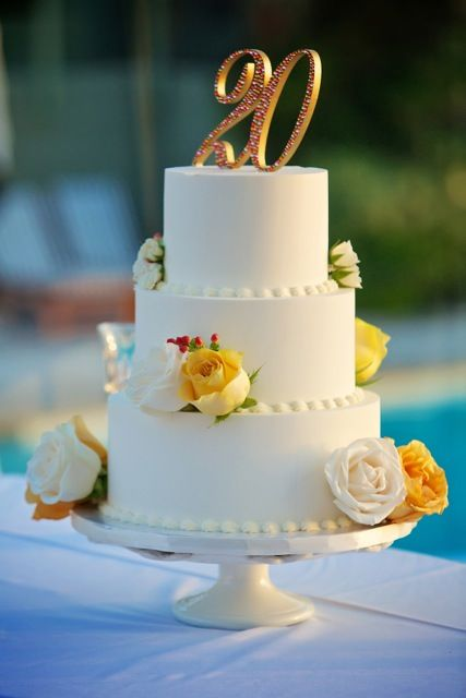 20th Wedding Anniversary Facts In 2020 Happy Anniversary Cakes
