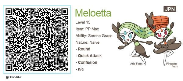 Meloetta Qr Codes Google Search Meloetta Qr Codes