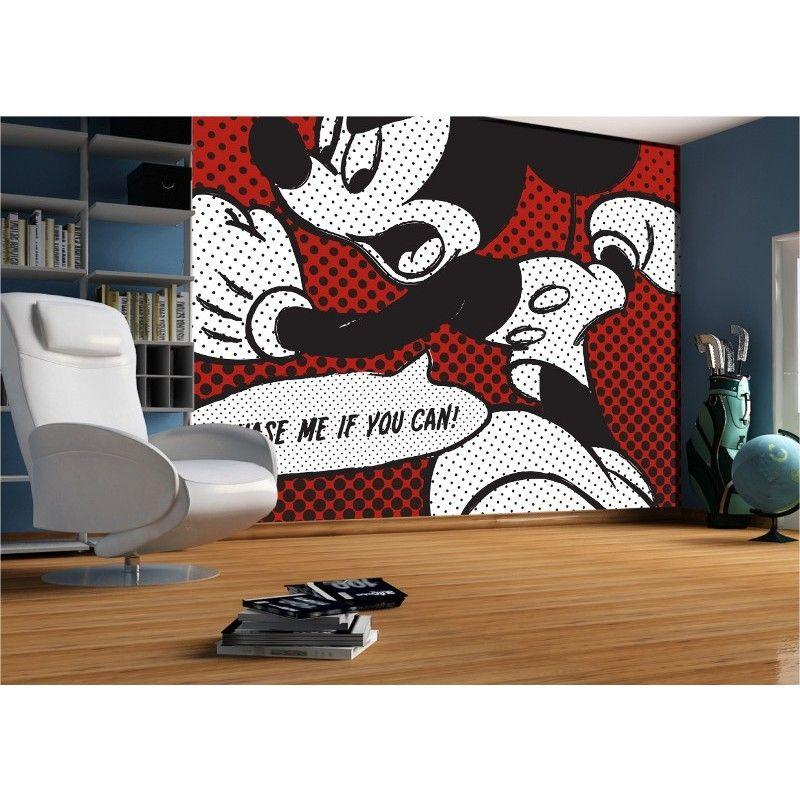 Papier peint Mickey Mouse BD http://www bebegavroche