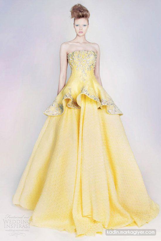 blog.markagiyer.com  | En ünlü markalar ve trendler: 2013 Rami Kadi Cıvıl Cıvıl Fransız Gelinlik Tasarımları