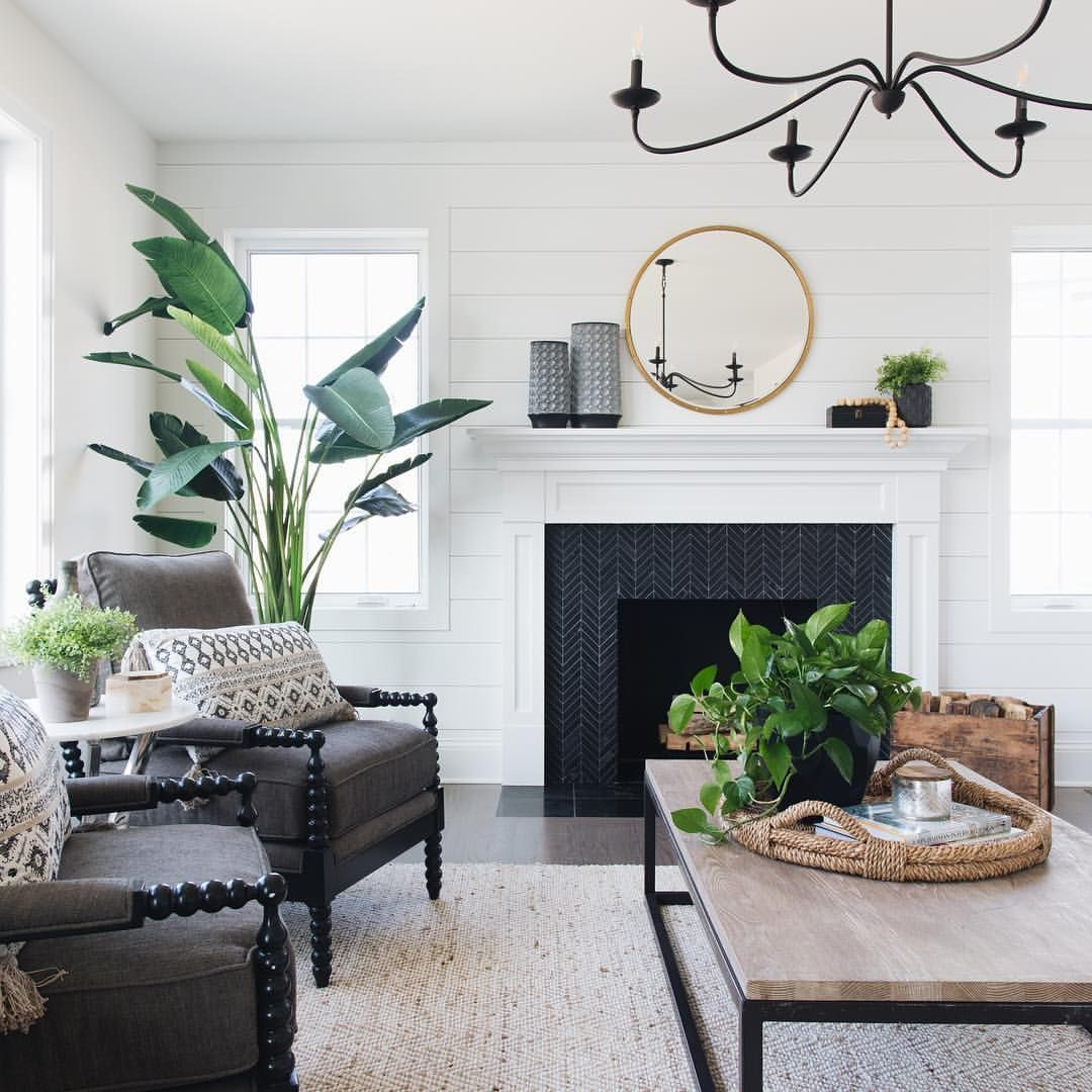 well it s official it s still fireplace season in on colors for farmhouse living room id=74993