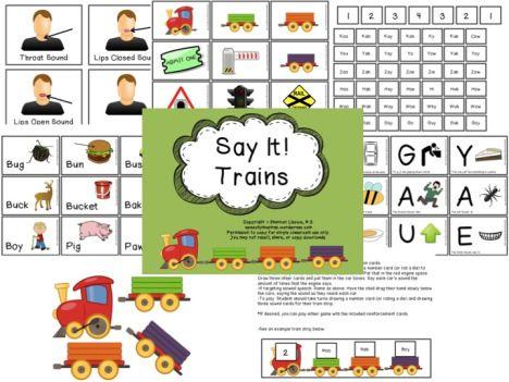 Say It! Trains Apraxia