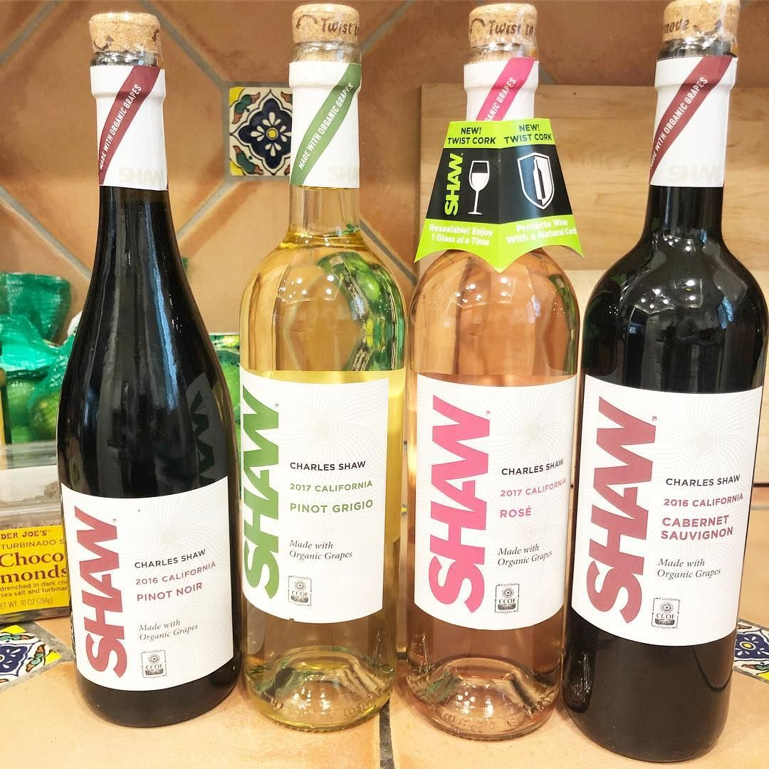 Trader joes now has organic wine and it costs less than