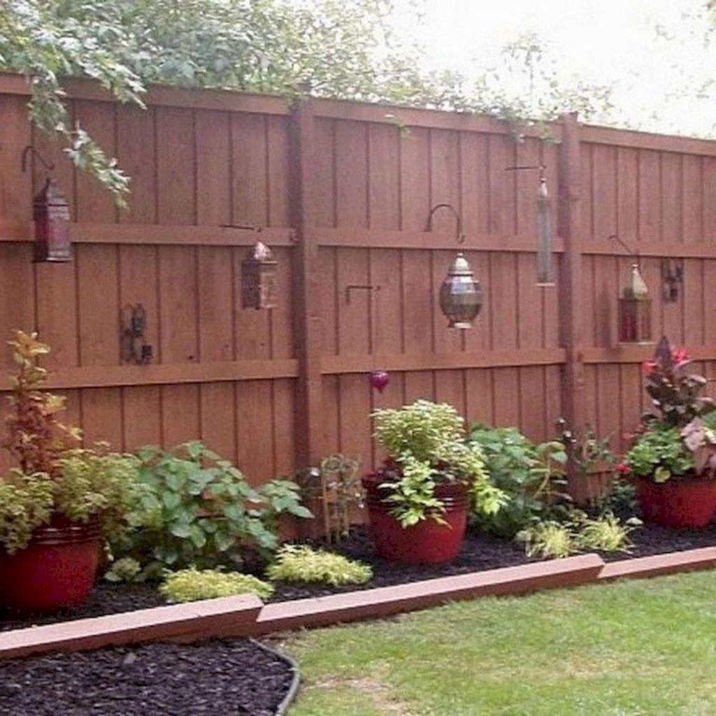 diy backyard privacy fence ideas