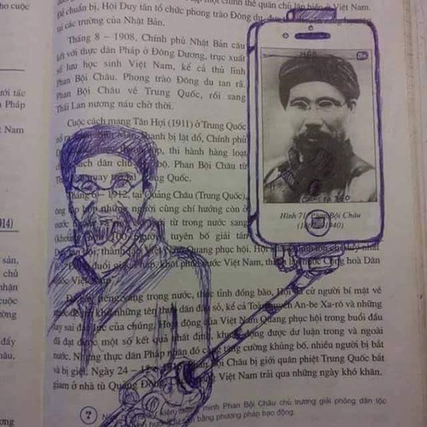 Examples Of Genius Textbook Vandalism By Bored Students That - 20 times students vandalised textbooks in the funniest way