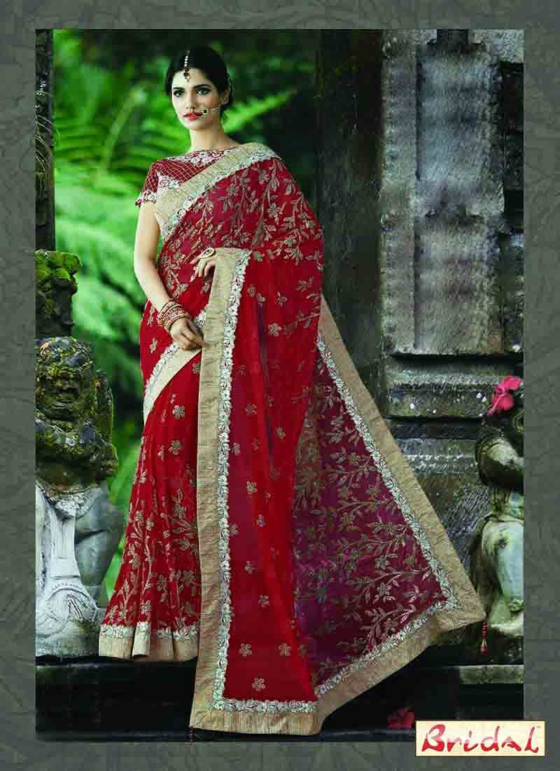 Best Indian Bridal Saree Designs For Weddings In 2019 Saree