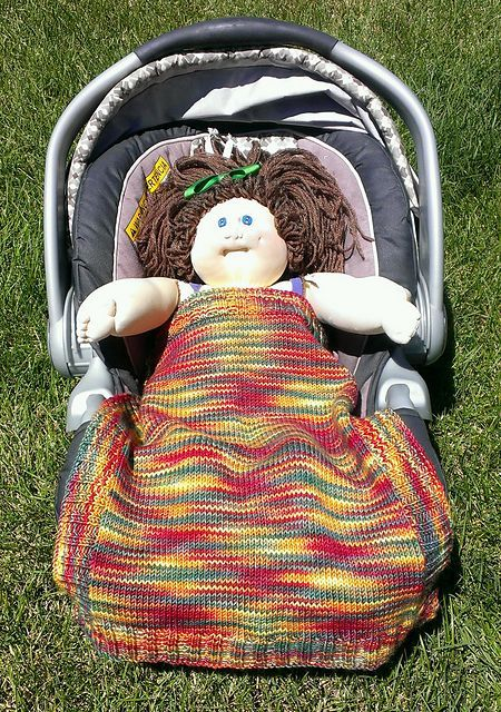 This is a very simple pattern for a car seat or stroller ...