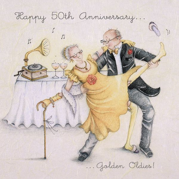 happy 50th anniversary greetings