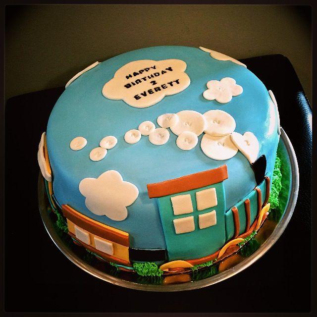 Sweety Cakes wwwsweetycakesca Cute little train birthday cake