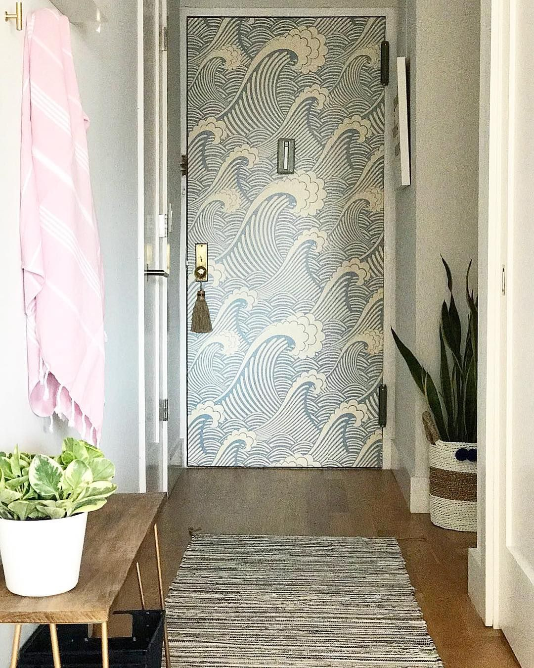 Waves of Chic Removable Wallpaper in 2019 On a boat