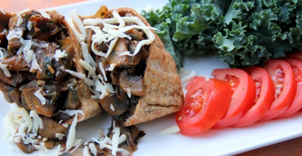 Recipe: Mushroom-Stuffed Pita