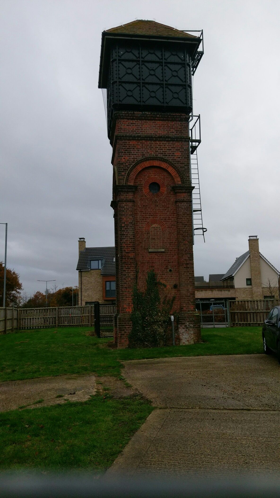 This Water Tower Is All That S Left Of Myland Hospital Colchester