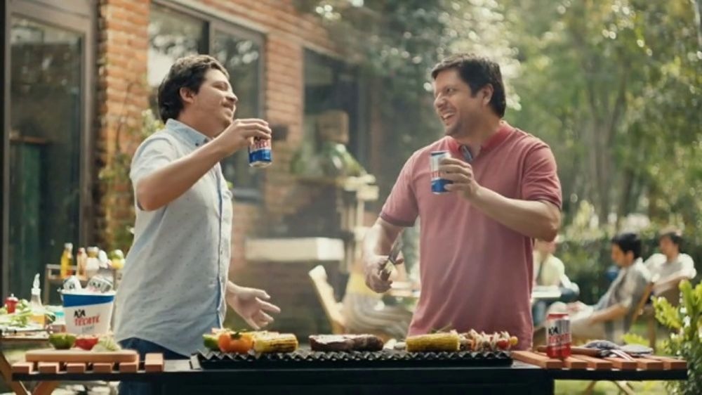 As These Two Guys Grill A Juicy Steak They Observe It In Slow Motion And Celebrate With Some Tecate Beers For A Job Well Done But Tv Commercials Songs Tecate