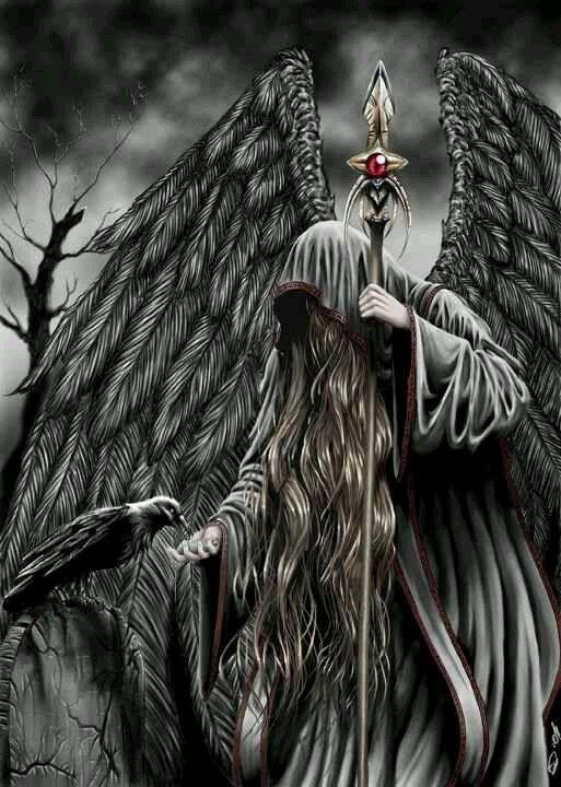 Dark Gothic Angel Imagenes De La Muerte Arte Sobre La Muerte Angeles Y Demonios