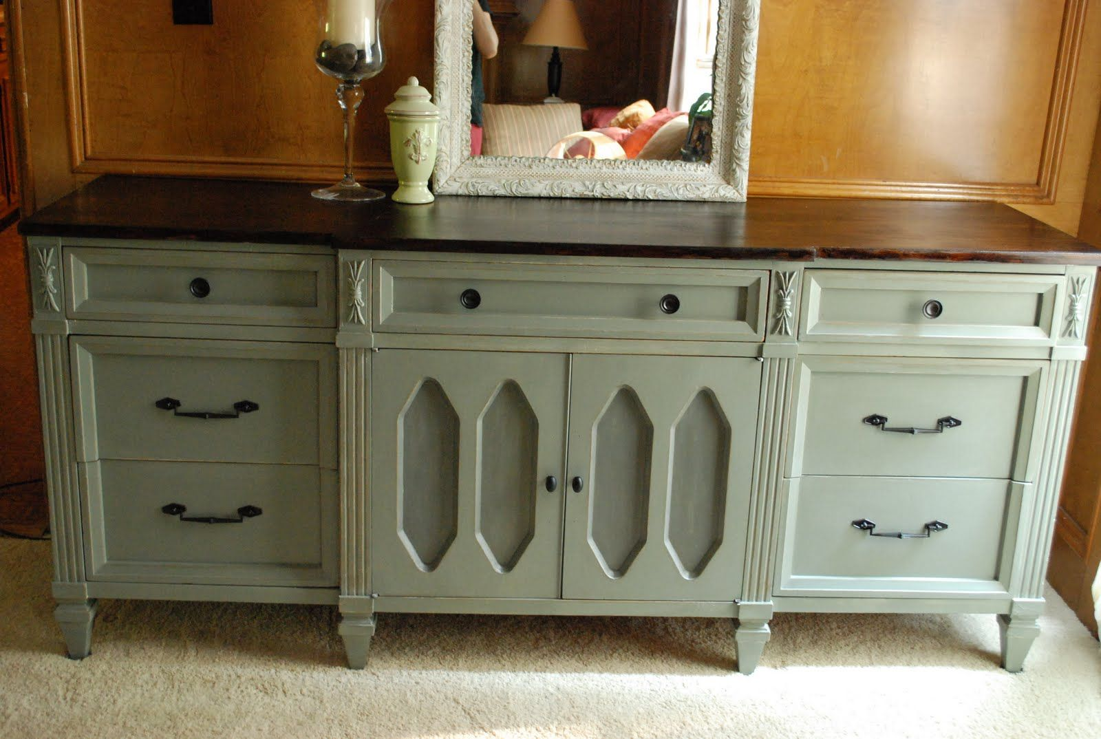 Painted Furniture Before And After Remodelaholic