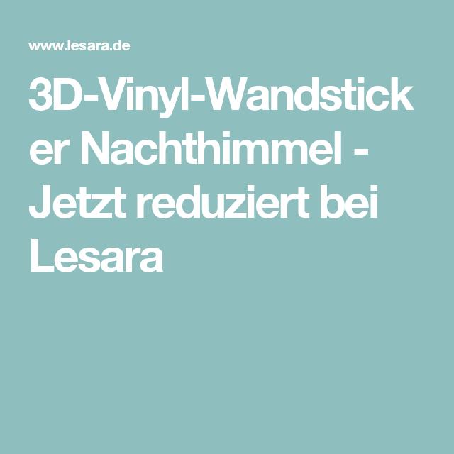 3d Vinyl Wandsticker Nachthimmel Jetzt Reduziert Bei Lesara
