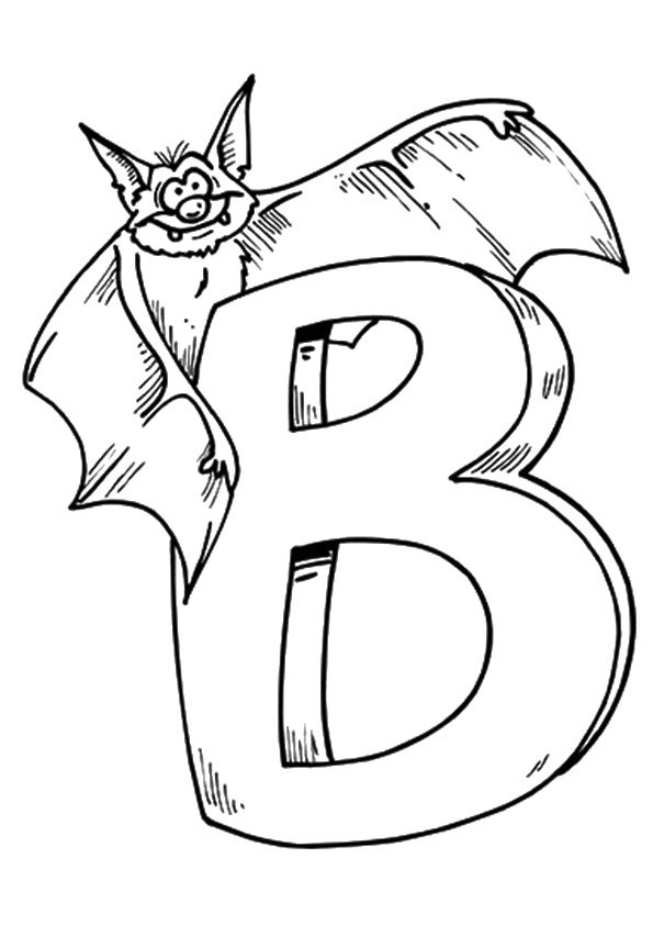 Print Coloring Image Momjunction Bat Coloring Pages Halloween Coloring Pages Abc Coloring Pages