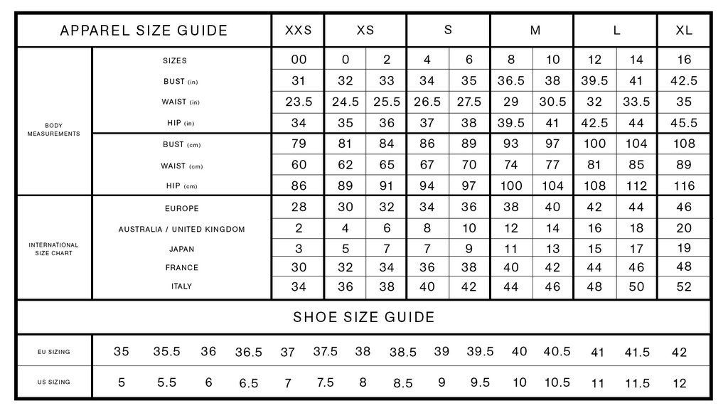 Pin On Clothes Size