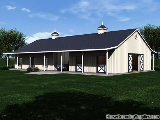 This Is Interesting House Barn Combo Barn Style House Plans Barn Style House House