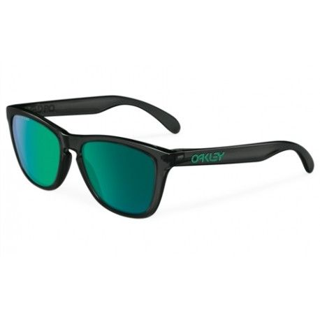 43db0a010a08ab  18 polarized oakley sunglasses cheap,Oakley Frogskins Black Ink w Jade  Irid Polarized Sunglasses Frame Lens http   sunhotforsalecheap.com 122-oa…
