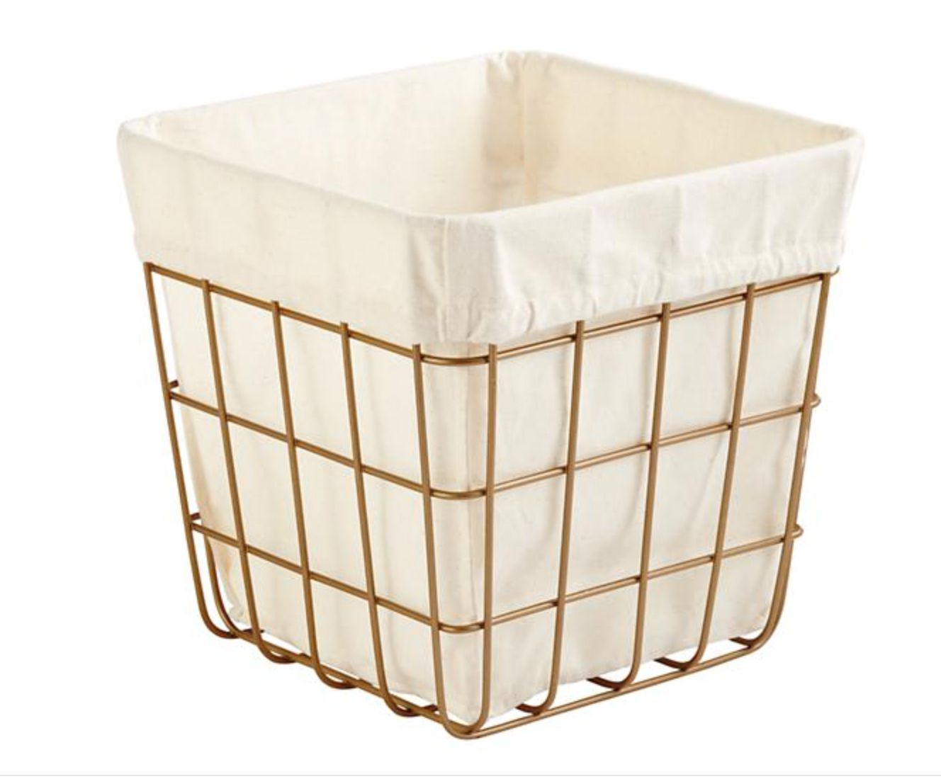 Gold Index Cube Bin 11 Wx11 Dx11 H 25 Cube Storage Cube Storage Bins Kids Storage Bins