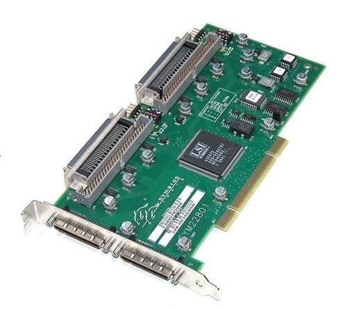 SYMBIOS LOGIC - SYMBIOS SYM22801 DUAL CHANNEL SCSI ...