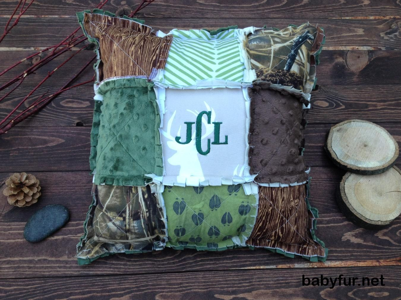 Baby Rag Quilt Pillow