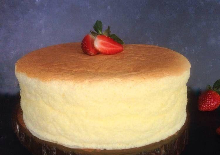 Inilah Resep Cara Membuat Japanese Cotton Cheesecake Istimewa Makanan Food Plating Resep Makanan Penutup