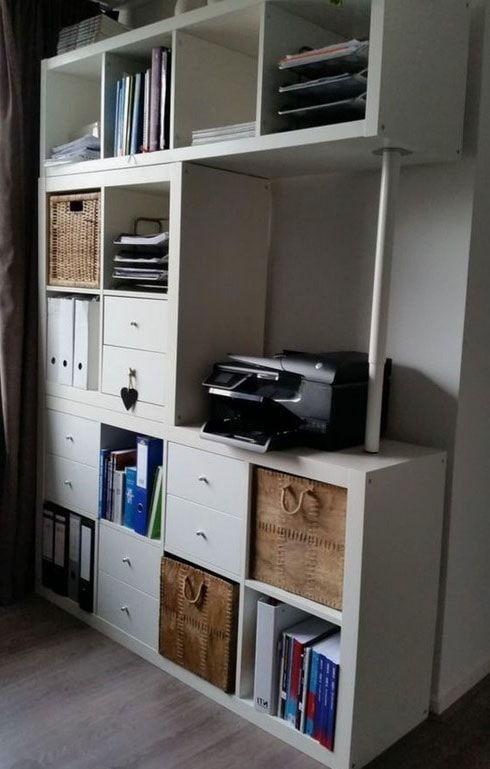 Photo of Step by Step Ikea Kallax Hack: Ikea Kallax with Doors & Overlays