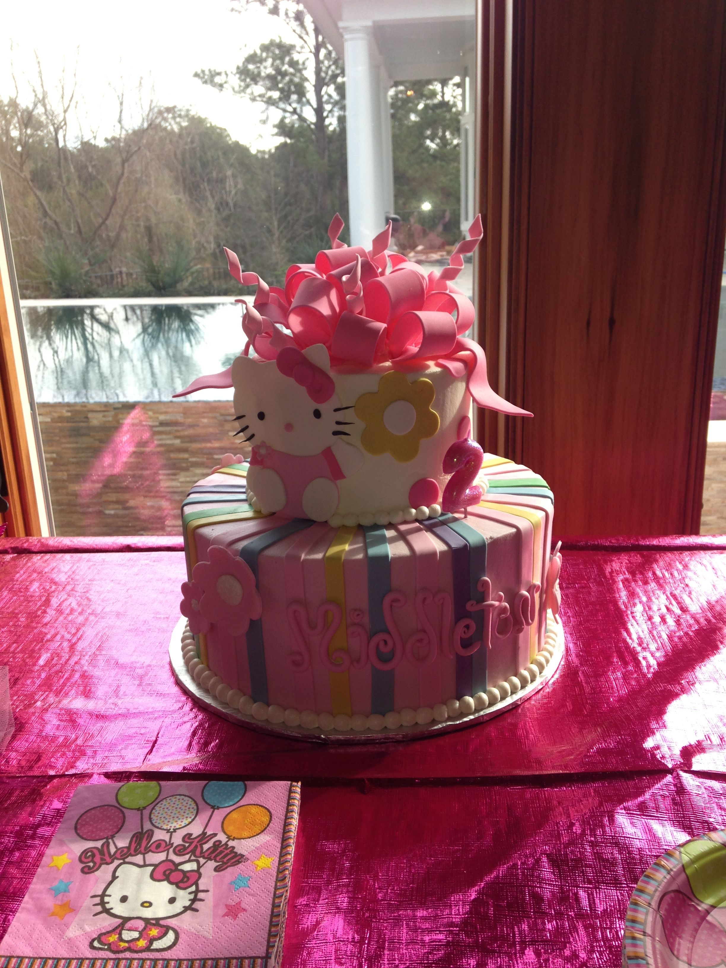 The cake was perfect!
