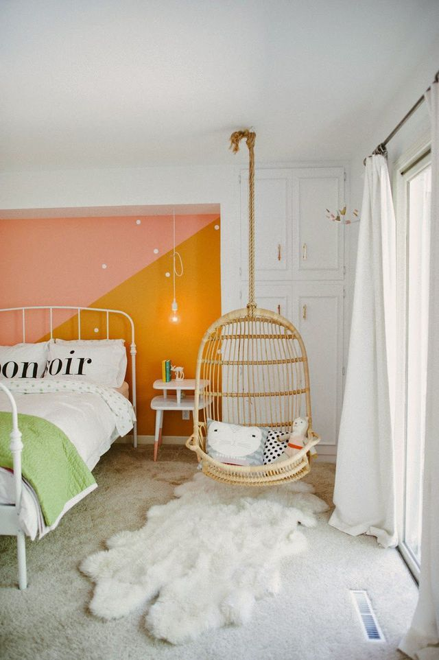 from statement walls to hanging chairs to shiplap these kids rooms are sure to inspire your adult sized retreat