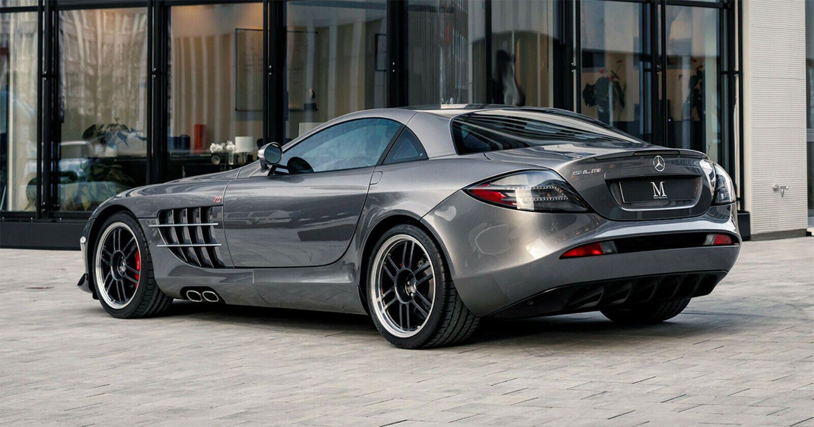 Mercedes Benz Mercedes Benz Slr Mclaren 722 Coupe Marcel Muller