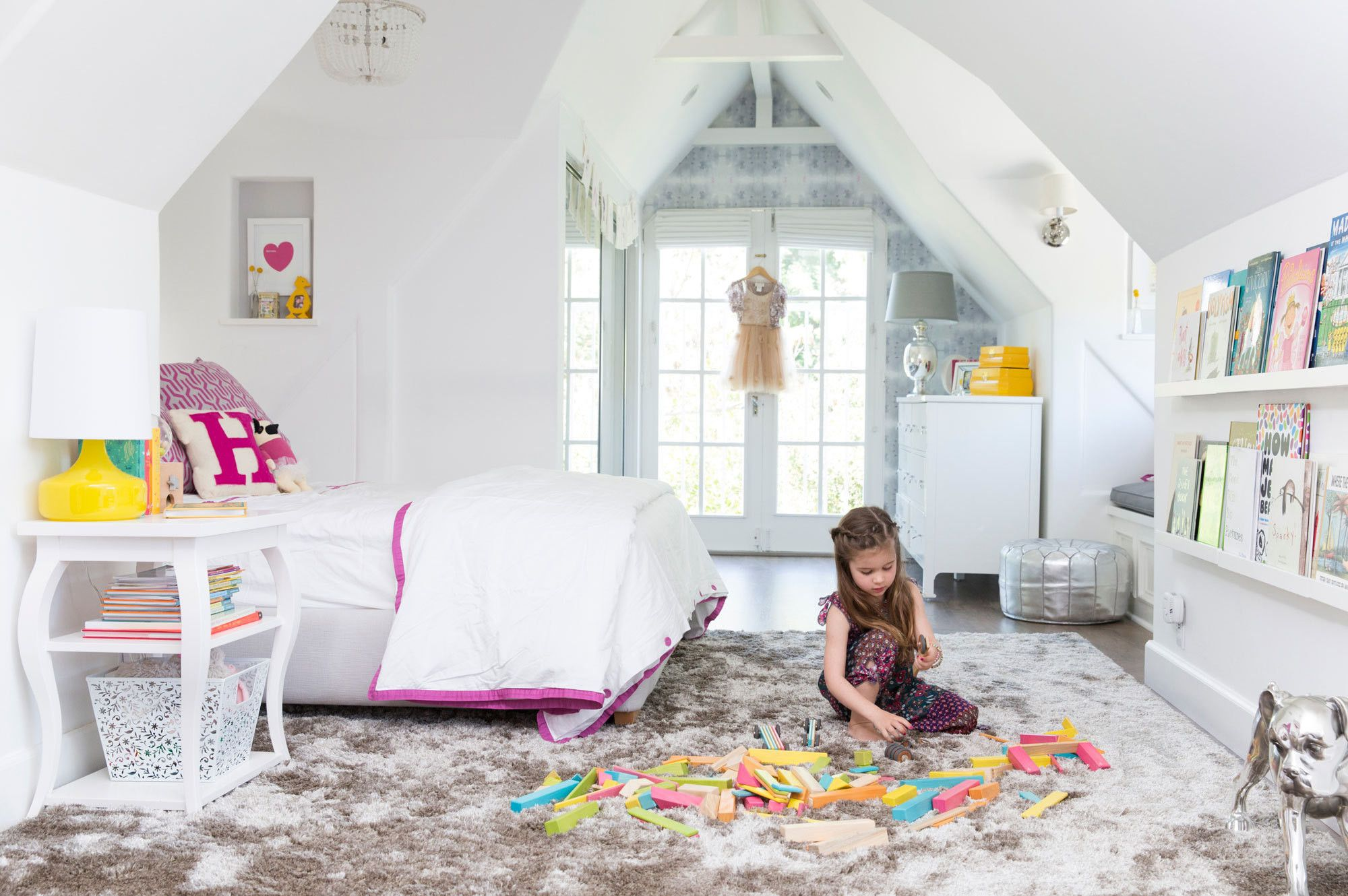 Open-Door Policy: At Home with Tiffani Thiessen - Lonny | Kids ...