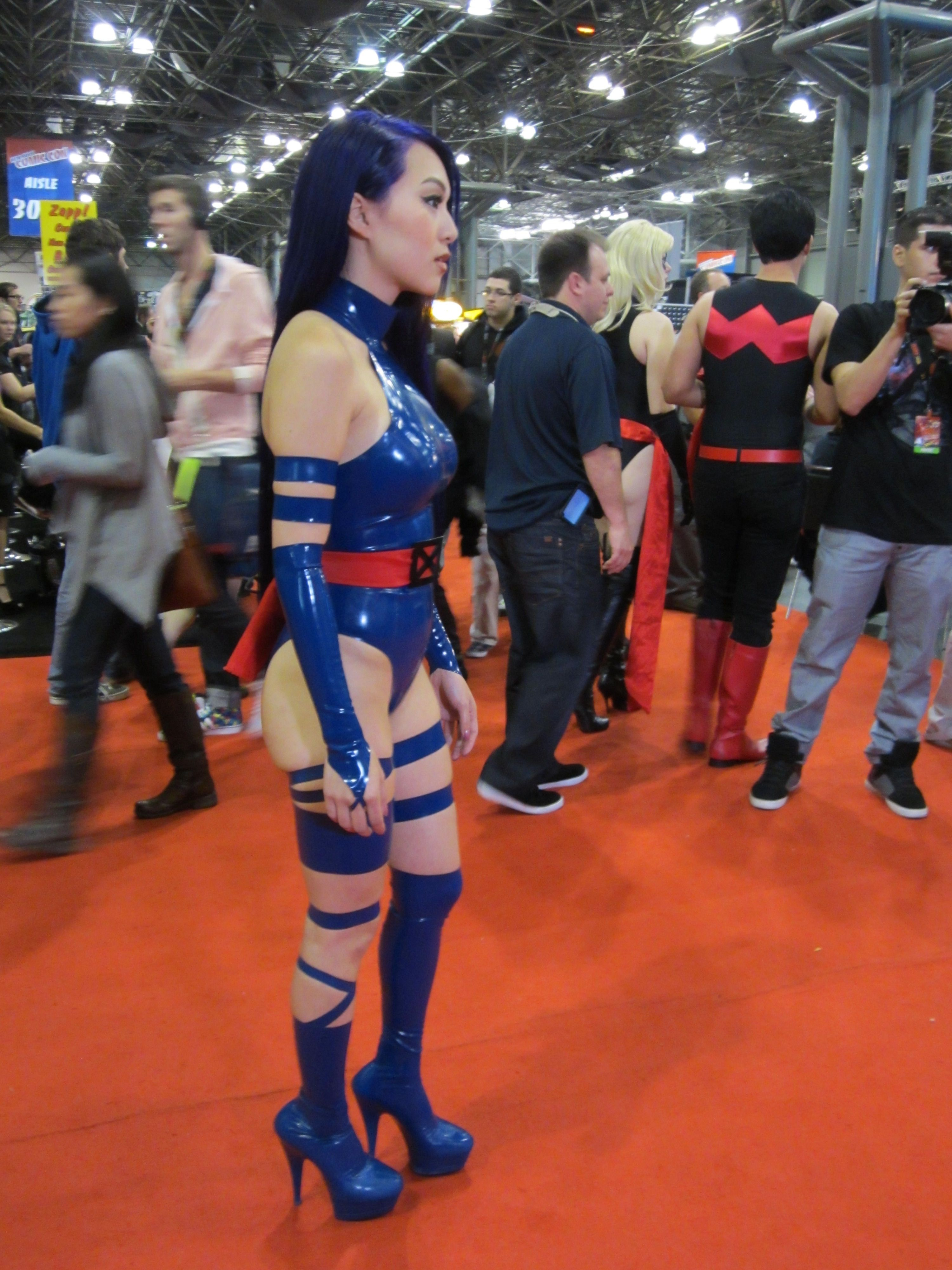 Psylocke | Slutty cosplay | Pinterest