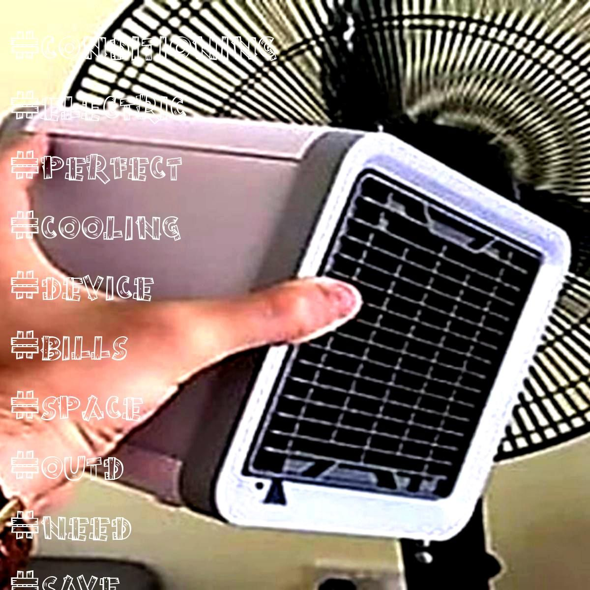 Need For Air Conditioning With This New Device New air cooling device can make any hot space cool and save big on electric bills Perfect for outdNo Need For Air Condition...
