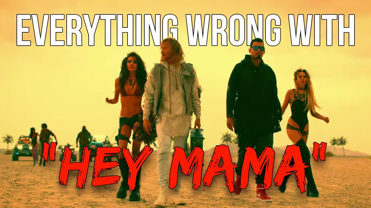 """Everything Wrong With David Guetta - """"Hey Mama"""""""