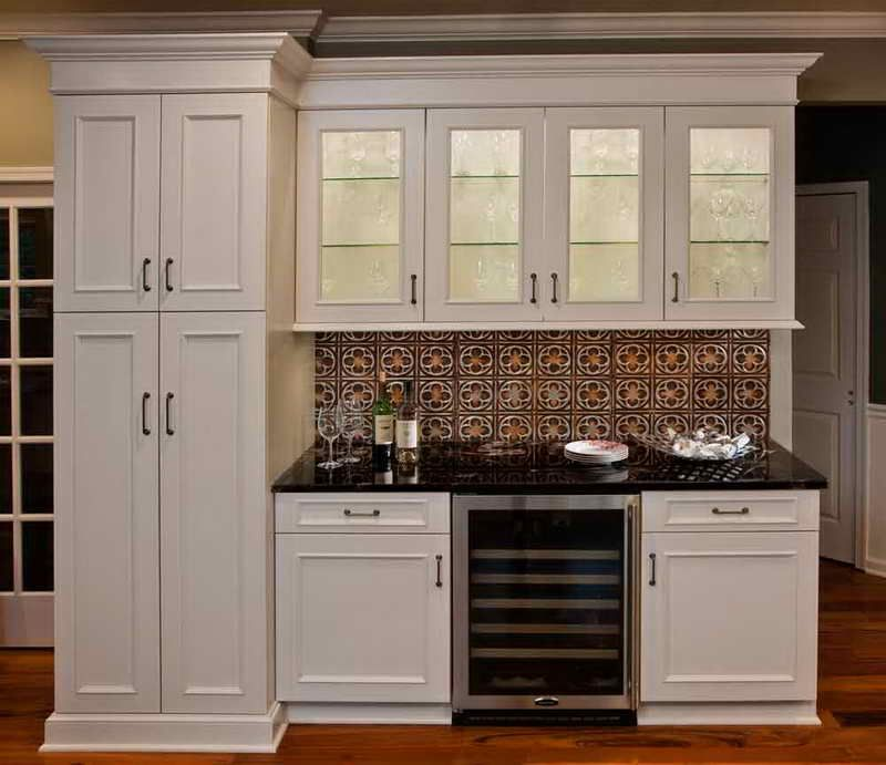 Tin Backsplash For Kitchen 7171 Tin Ceiling Tile Backsplash With White  Cabinets-Kitchen-Tin - Tin Backsplash For Kitchen 7171 Tin Ceiling Tile Backsplash With