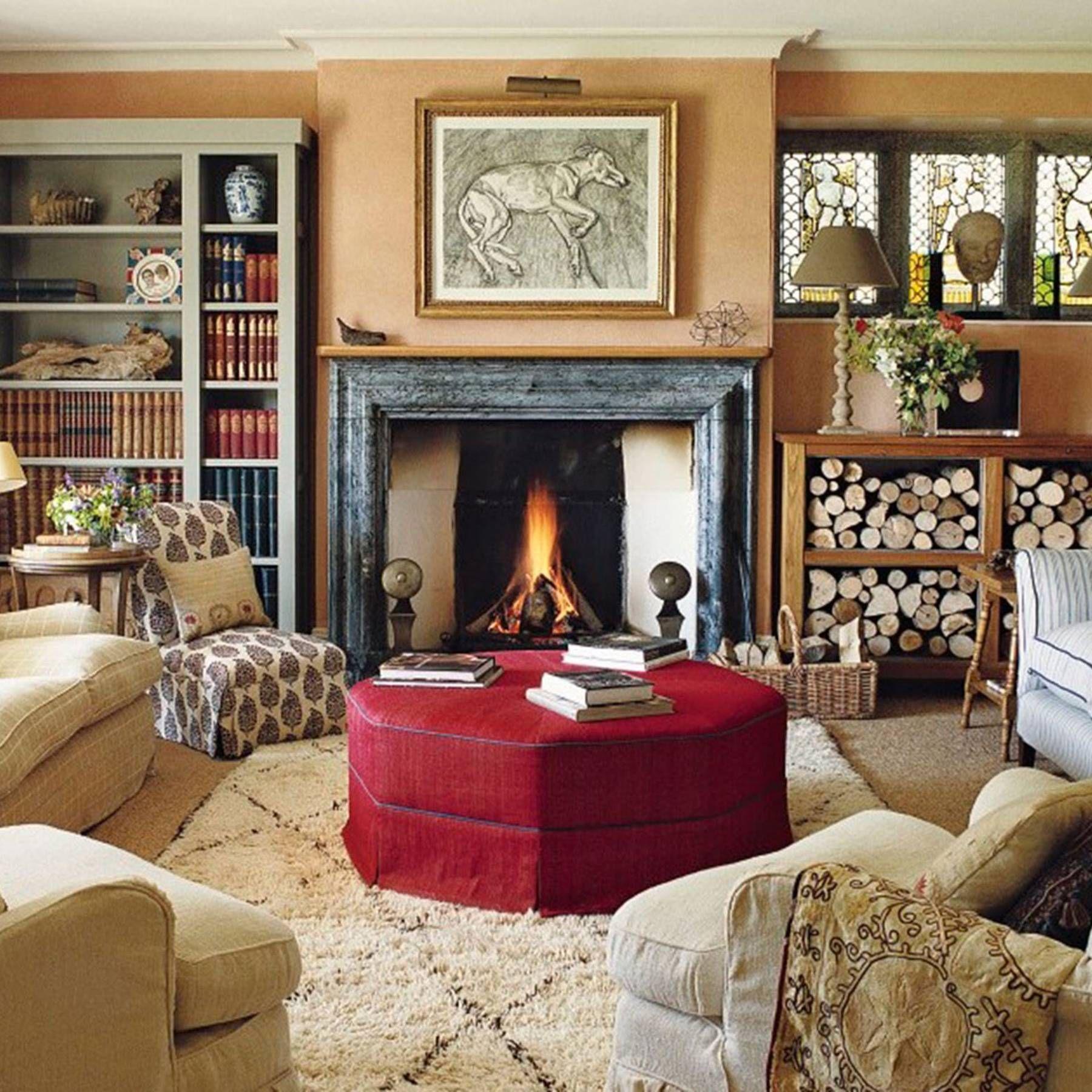 Country Living Room Furniture Sets - Foter