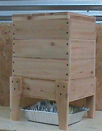 Homemade Worm Bin Home Sweet Home Worm Composting