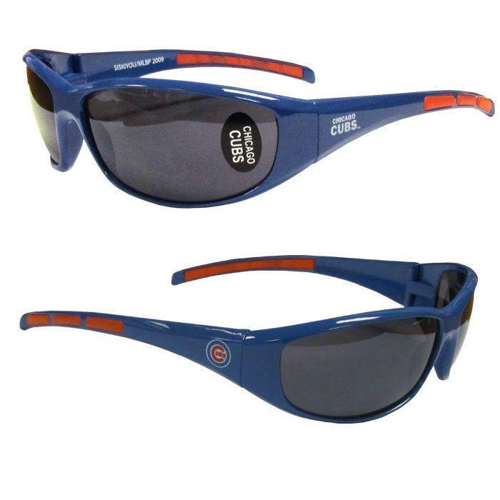 Chicago Cubs 3 Dot Team Logo Series Sport Sunglasses ...