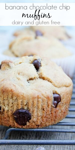 Gluten-Free Banana Chocolate Chip Muffins Recipe with Bob's Red Mill